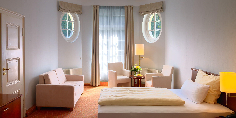 Patientenzimmer in der Parkklinik Wiesbaden Schlangenbad